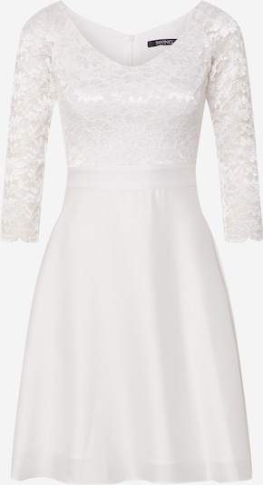 SWING Kokteilové šaty - krémová / biela, Produkt