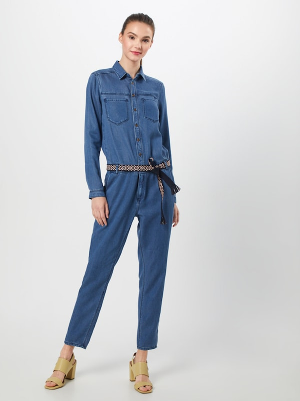 s.Oliver Overall in blue denim, Modelansicht