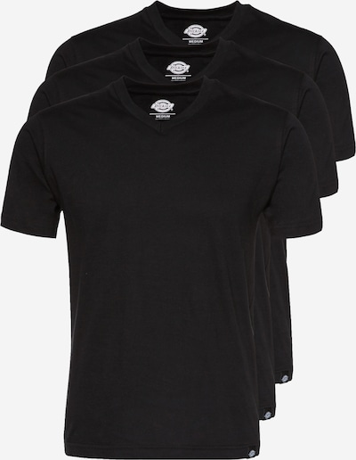 DICKIES Tričko - čierna: Pohľad spredu