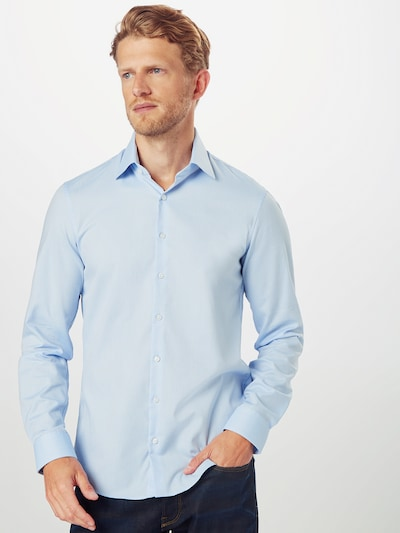 Calvin Klein Košeľa - svetlomodrá: Pohľad spredu