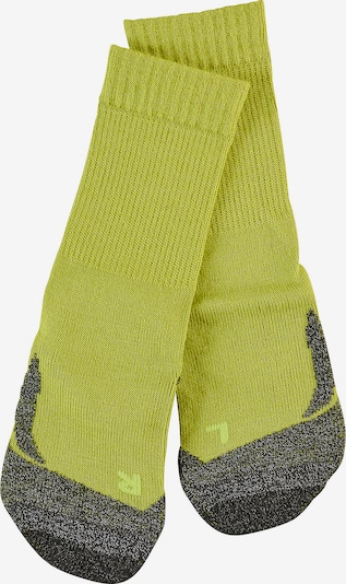 FALKE Socken 'TK2' in gelb / schwarz, Produktansicht