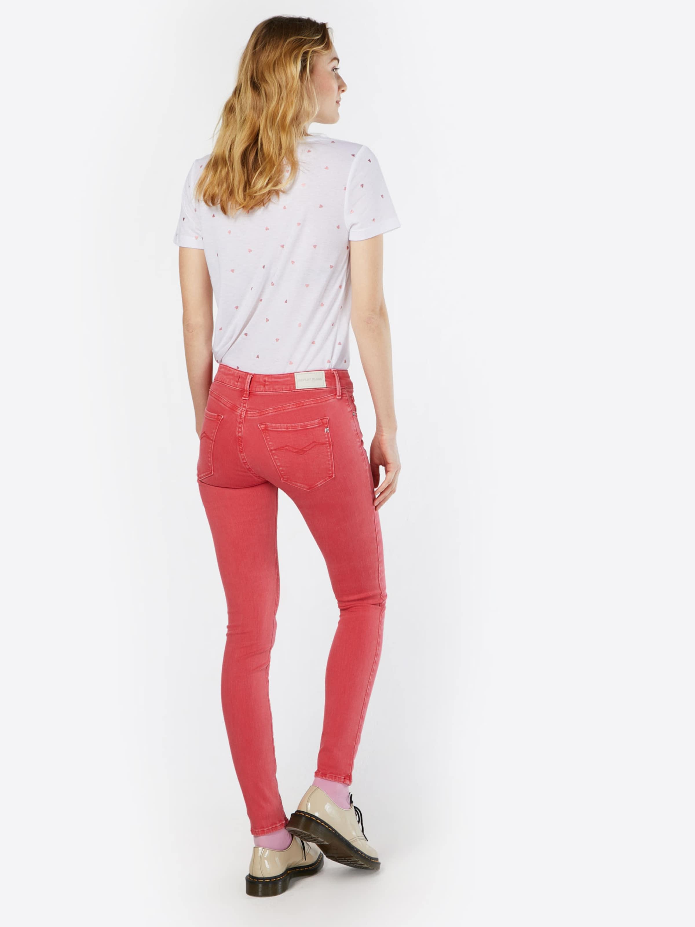 'luz' In Replay In Replay 'luz' In Replay Jeans 'luz' Pastellrot Jeans Jeans Pastellrot 15uFJK3Tlc