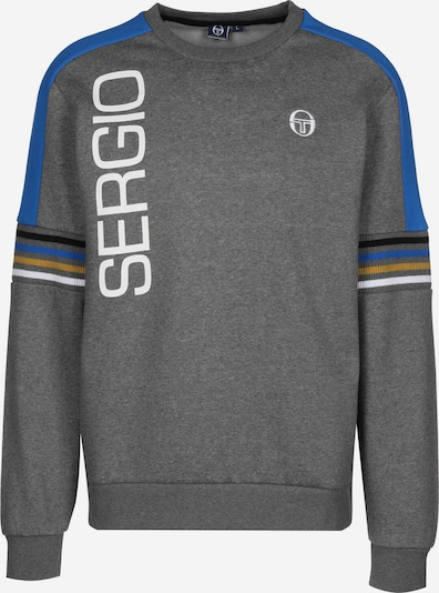 Sergio Tacchini Sweater ' Daniel ' in graumeliert, Produktansicht