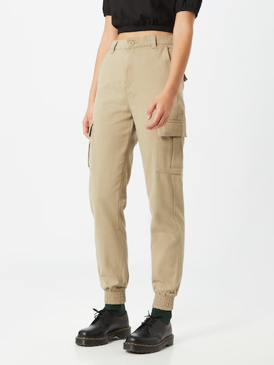Dr. Denim Hose in beige, Modelansicht