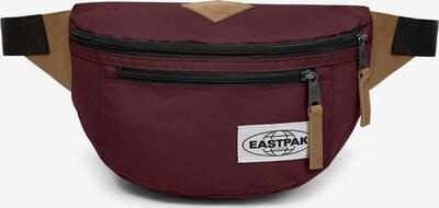 EASTPAK Heuptas ' Bundel ' in de kleur Beige / Wijnrood, Productweergave