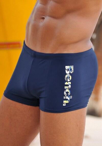 BENCH Boxer-Badehose in dunkelblau, Produktansicht