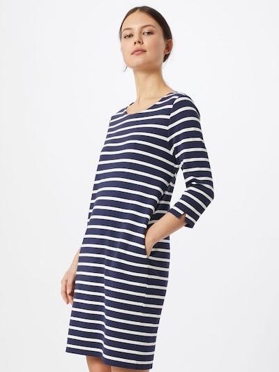 s.Oliver Kleid in dunkelblau / weiß, Modelansicht