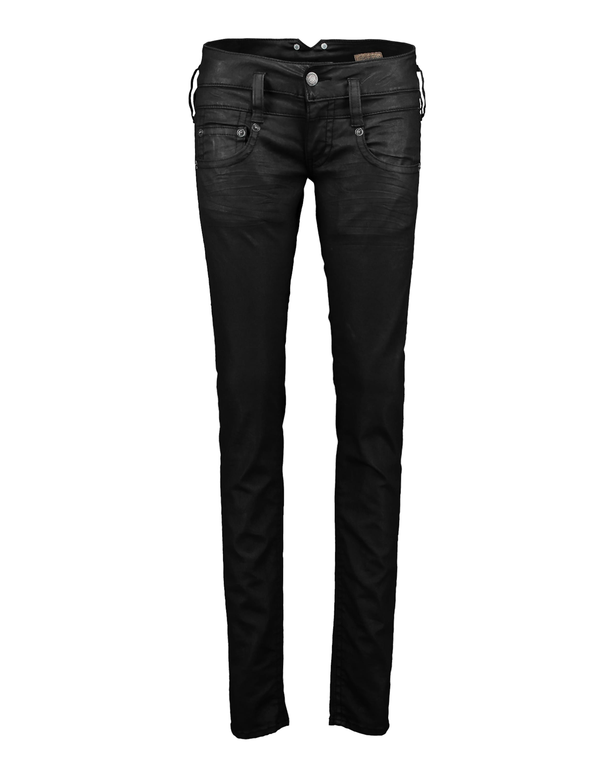 Herrlicher Black Jeans Denim Powerstretch 'pitch' Aus In Skinny CxBErdoQWe