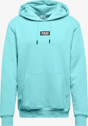 ABOUT YOU X PARI Sweatshirt 'Mick' in de kleur Turquoise, Productweergave