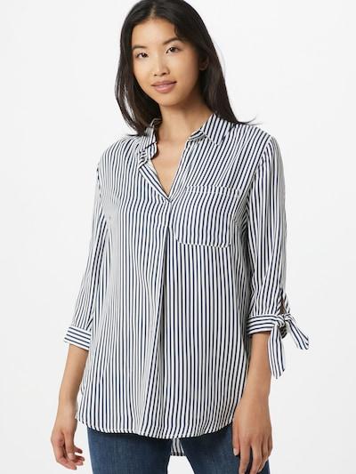 Bluză 'Belina' Hailys pe albastru / alb, Vizualizare model
