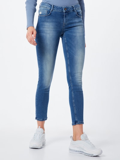 Jeans 'Rosengarten' Goldgarn di colore blu denim, Visualizzazione modelli