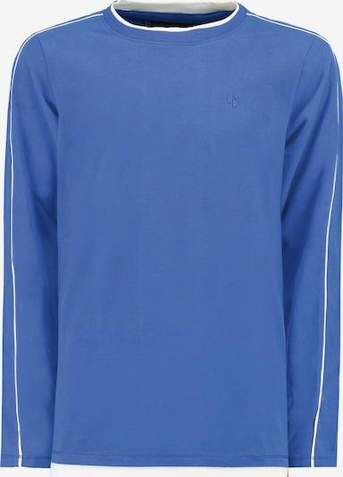 GARCIA Shirt in navy / royalblau / weiß: Frontalansicht