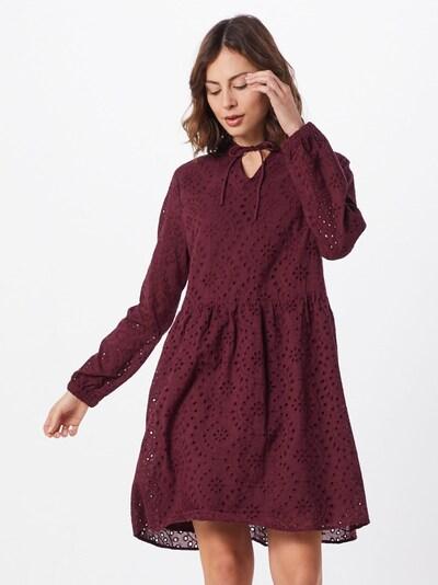 SISTERS POINT Kleid 'VILKE-DR' in bordeaux, Modelansicht