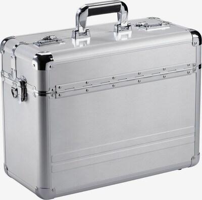 Dermata Pilotenkoffer in silber, Produktansicht