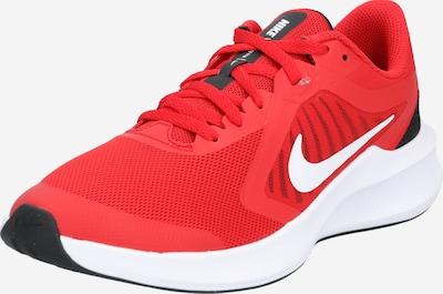 NIKE Laufschuh 'Downshifter 10' in rot / schwarz / weiß, Produktansicht