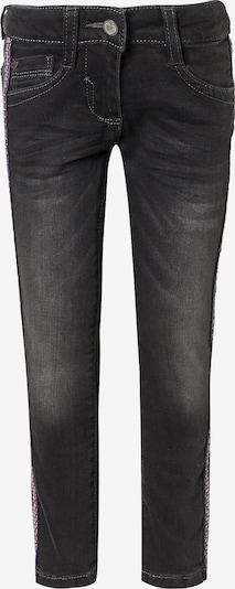 s.Oliver Junior Jeans 'Kathy' in basaltgrau / dunkelrot / silber, Produktansicht