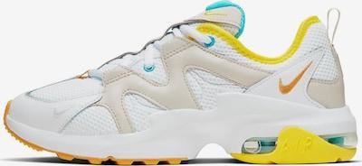 NIKE Sportschuh 'Air Max Graviton' in beige / türkis / gelb / weiß, Produktansicht