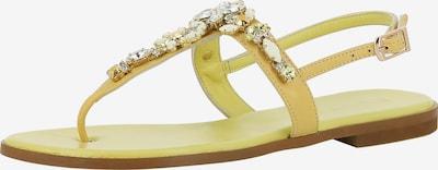 EVITA Sandale 'OLIMPIA' in gelb, Produktansicht