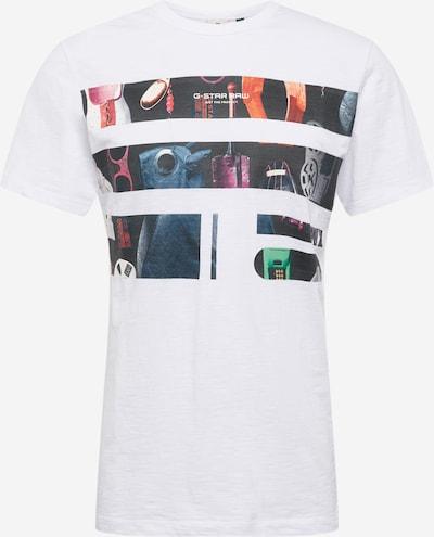 G-Star RAW Shirt in de kleur Gemengde kleuren / Wit, Productweergave