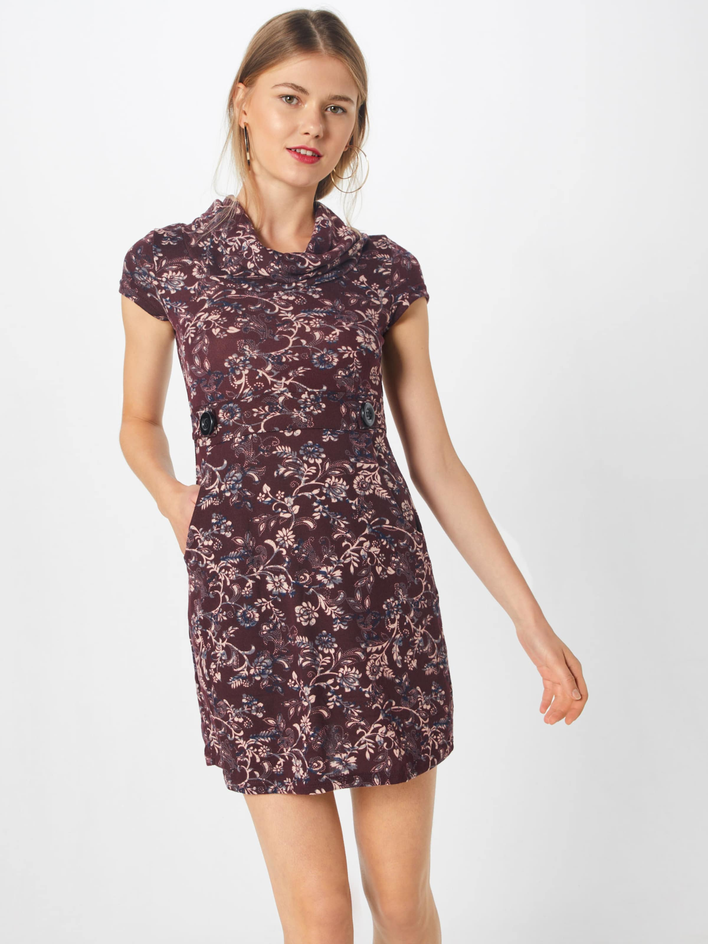 Dress' Burgunder About Kleid In You 'agathe wPXulOZkiT