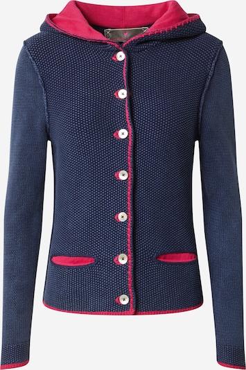 LIEBLINGSSTÜCK Gebreid vest 'Zarina' in de kleur Blauw / Cranberry, Productweergave