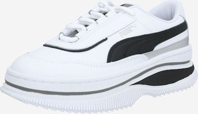 PUMA Sneaker 'Deva Mono Pop' in schwarz / weiß: Frontalansicht