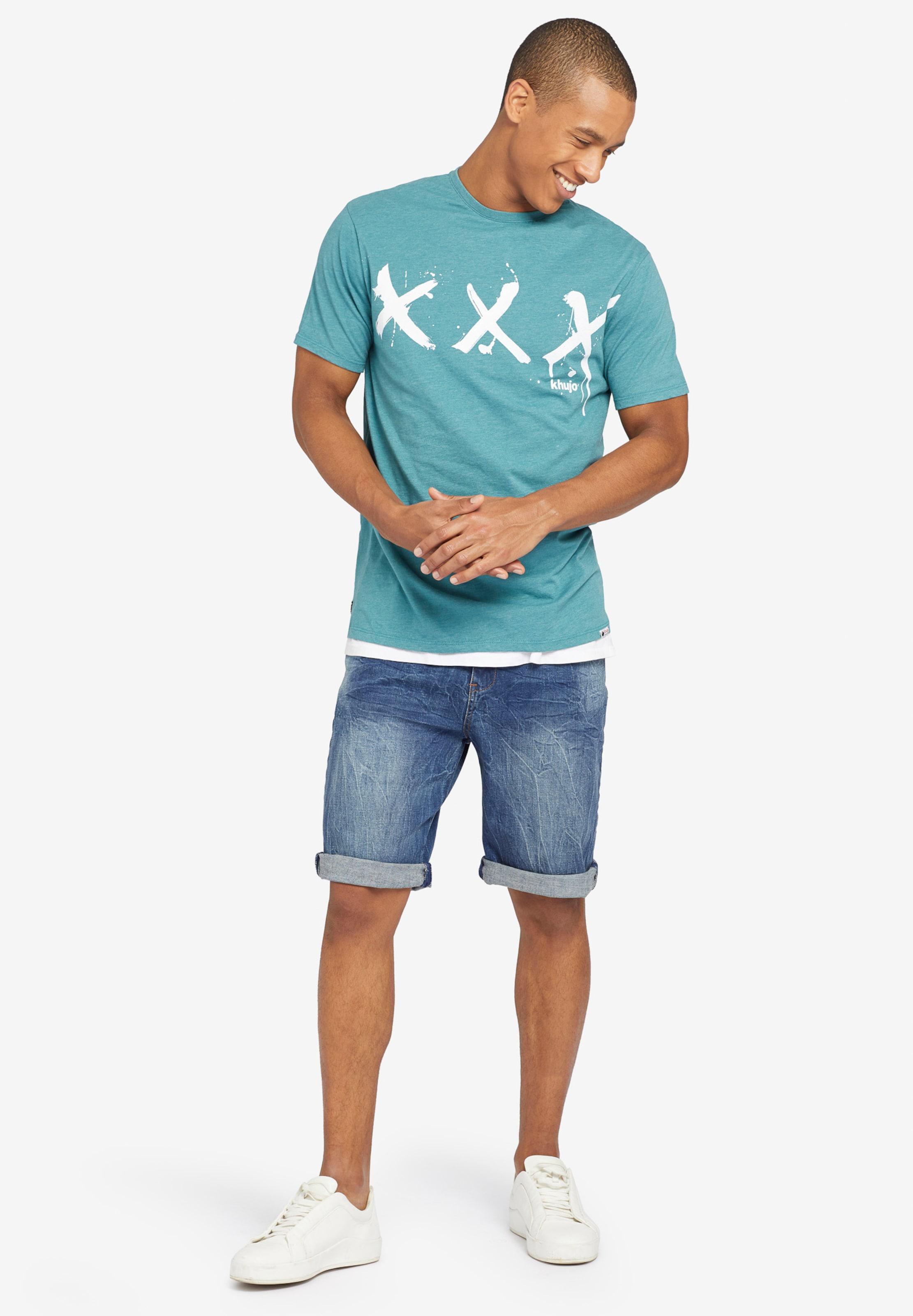 shirt 'uslo Tripplex' T Khujo En JadeBlanc UqVzSMpG