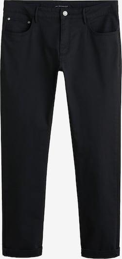 MANGO MAN Pantalon 'PISA5' en noir: Vue de face