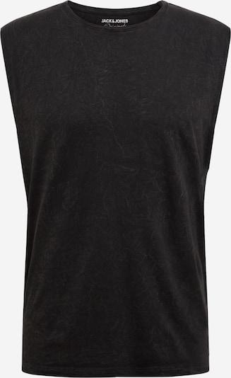 JACK & JONES Majica | pegasto črna barva, Prikaz izdelka
