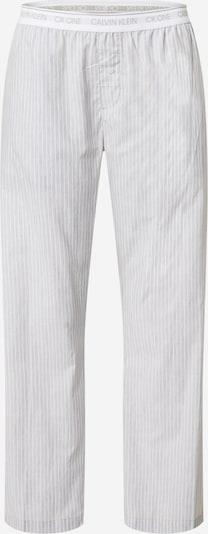 Calvin Klein Underwear Pyjamahose in grau / weiß, Produktansicht