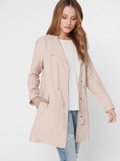 fáradt rózsaszín ONLY Átmeneti kabátok, Modell nézet