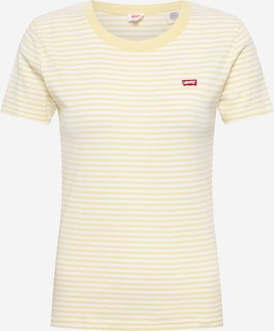 LEVI'S Koszulka 'SS RIB BABY TEE' w kolorze żółtym, Podgląd produktu