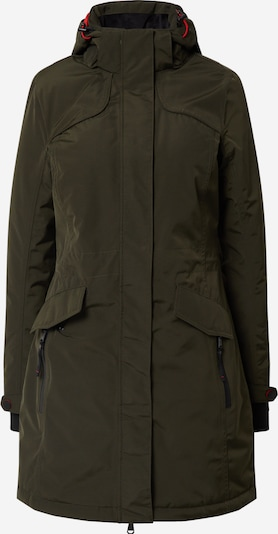 KILLTEC Outdoor coat 'Grindavik' in Olive, Item view