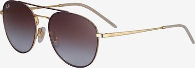 Ray-Ban Pilotenbrille in gold, Produktansicht
