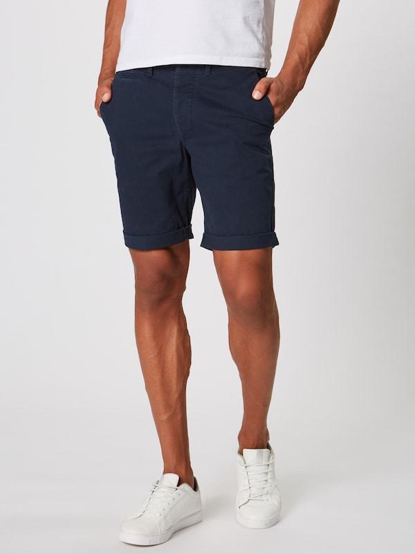Jackamp; Pantalon 'enzo' Jones Foncé Bleu En Chino EWYeDHI29