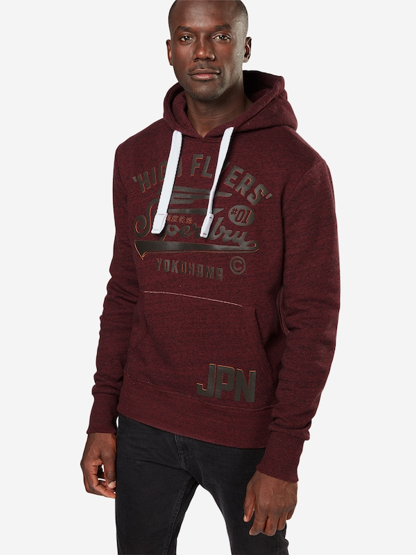 Superdry Sweatshirt 'HIGH FLYERS HOOD'