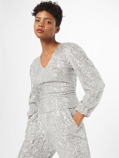 PATRIZIA PEPE Blouse 'Camicia' in de kleur Zilver, Modelweergave