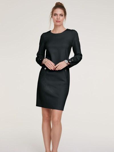 Trumpa kokteilinė suknelė iš heine , spalva - juoda: Vaizdas iš priekio