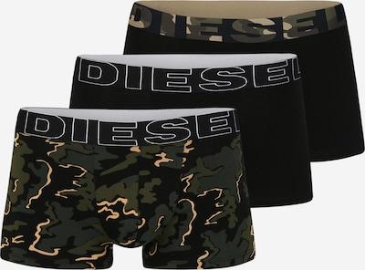 DIESEL Trunks 'UMBX-DAMIENTHREEPACK' in grün / schwarz, Produktansicht