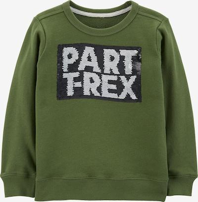 Carter's Sweatshirt in grau / khaki / schwarz, Produktansicht
