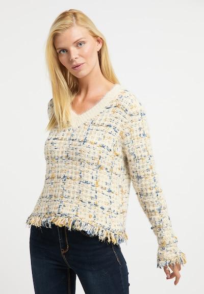 Usha Pullover in beige / mischfarben, Modelansicht