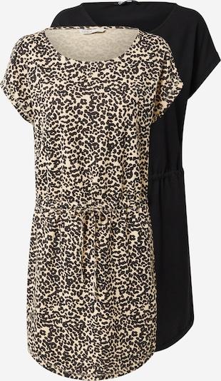 ONLY Kleid 'Sofie' in hellbraun / schwarz, Produktansicht