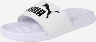 PUMA Badeschuh 'Popcat' in schwarz / weiß, Produktansicht