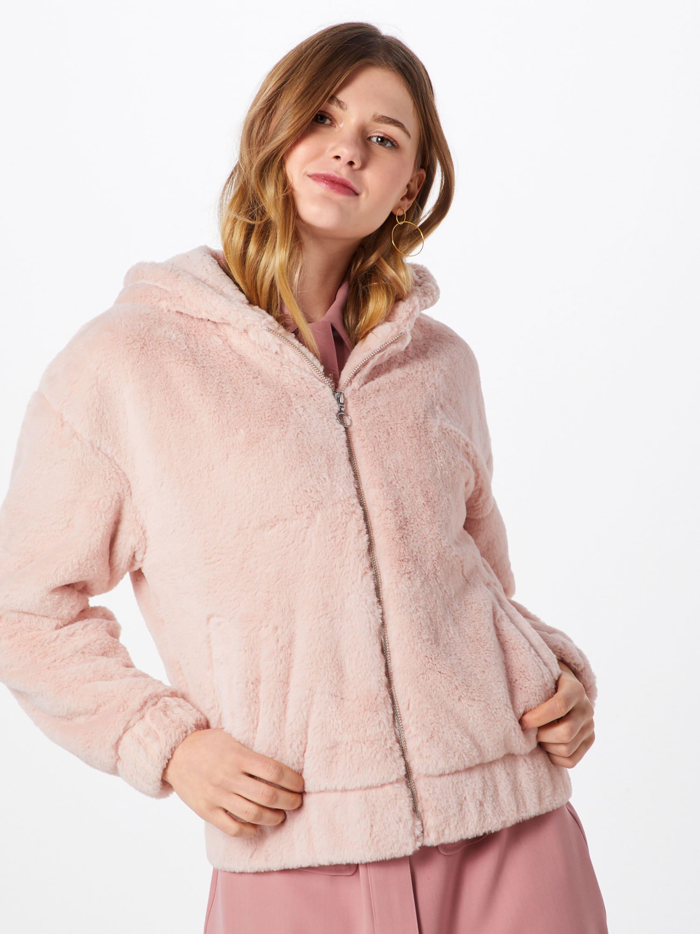 Jacket' Rosa Classics Teddy Urban Sweatjacke 'ladies In TcK1uFlJ3