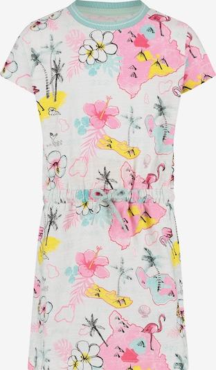 Noppies Kleid 'Claymont' in hellblau / hellpink / weiß, Produktansicht