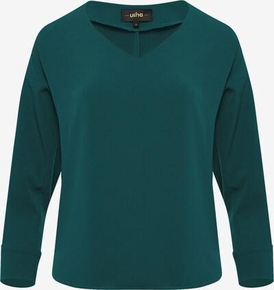 Usha Bluse in smaragd, Produktansicht