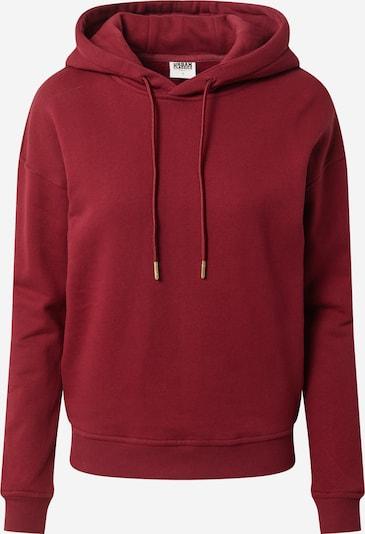 Urban Classics Sweatshirt in de kleur Bourgogne, Productweergave