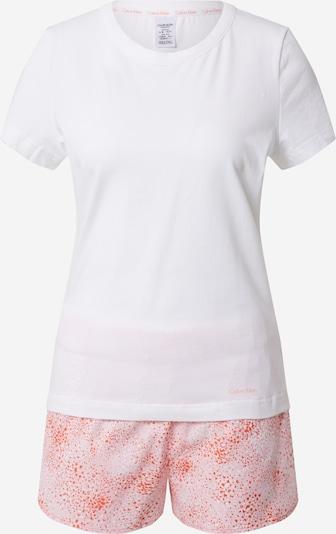 Calvin Klein Underwear Schlafanzug in rosa / weiß, Produktansicht