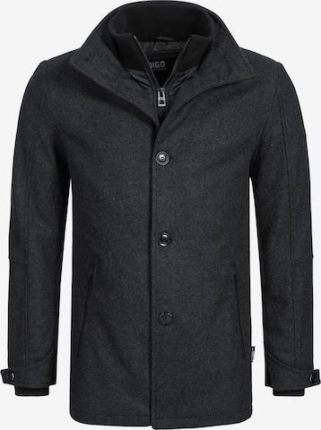 Manteau d'hiver 'Brittany' INDICODE JEANS en gris