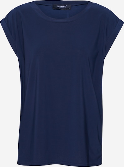 SISTERS POINT Shirt 'LOW-A' in navy, Produktansicht